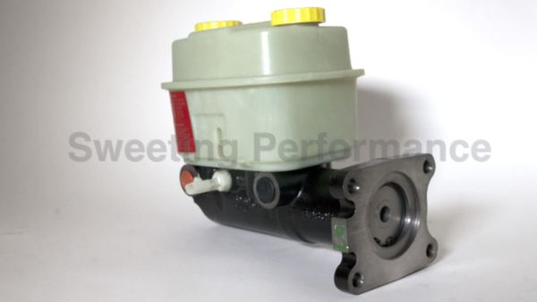 """Hydro-Max Brake Master Cylinder 2"""" Bore w/ Tall Reservoir and Differential Pressure Switch"""