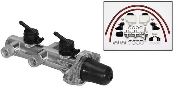 Wilwood Remote Reservoir 1-1/8 Inch Polished Master Cylinder