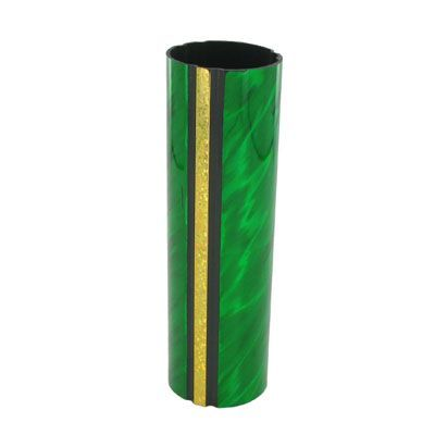1-3/4 x 4 Inch Round Green Splash Trophy Column-Other Lengths Available