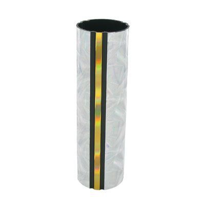 1-3/4 x 4 Inch Round Silver Moonbeam Trophy Column-Other Lengths Available