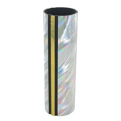 1-3/4 x 4 Inch Round Silver Splash Trophy Column-Other Lengths Available