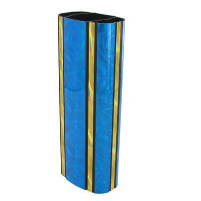 2-3/8 x 8 Inch Oval Blue Moonbeam Trophy Column-Other Lengths Available