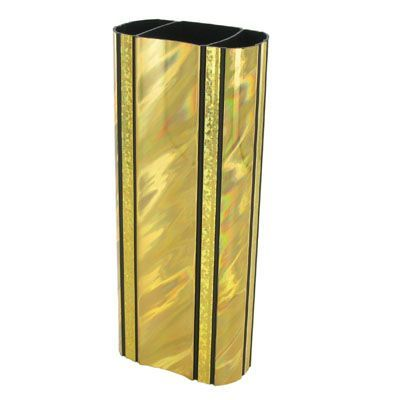 2-3/8 x 8 Inch Oval Gold Splash Trophy Column-Other Lengths Available