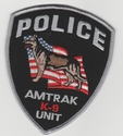 Amtrak Police K-9 Unit Patch