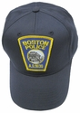 Boston Police Department Massachusetts Patch Ball Cap