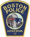 Boston Police Department Patriots Superbowl LI Champs Shoulder Patch