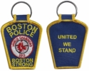 Boston Strong BPD Red Sox World Series 2013 Patch Key Chain
