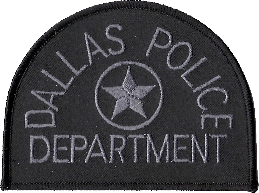 Dallas Police Department Texas Subdued Patch