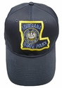 Louisiana State Police Patch Ball Cap