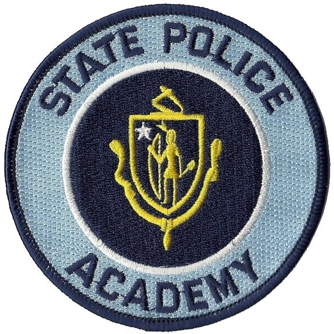 Massachusetts State Police Academy Patch