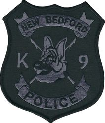 New Bedford MA subdued K9 shoulder patch