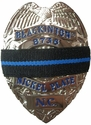 Thin Blue Line Police Mourning Bands - Pack of 10