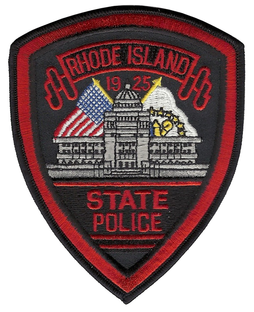 RHODE ISLAND STATE POLICE  PATCH HAT SIZE