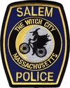Salem Police Bike Unit Massachusetts Patch - New Design