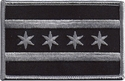 Subdued Chicago State Flag Patch