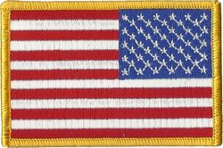 United States Flag Military Patch