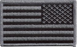 United States Flag Subdued Military Patch