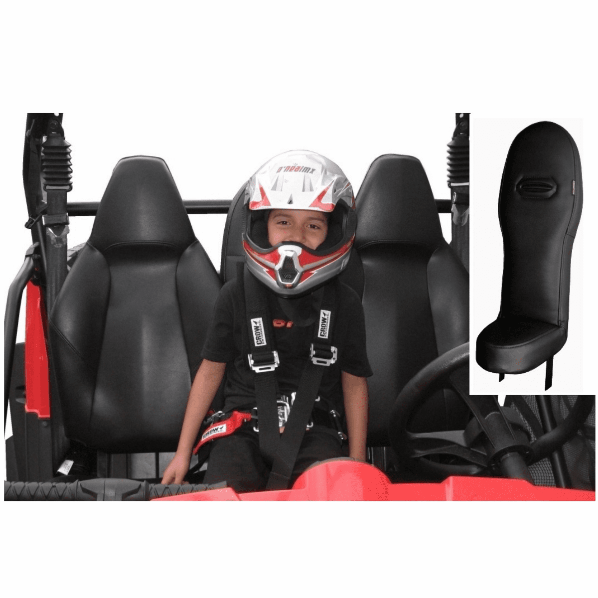 2008-2014 RZR Center Seat - All Black **SOLD OUT***