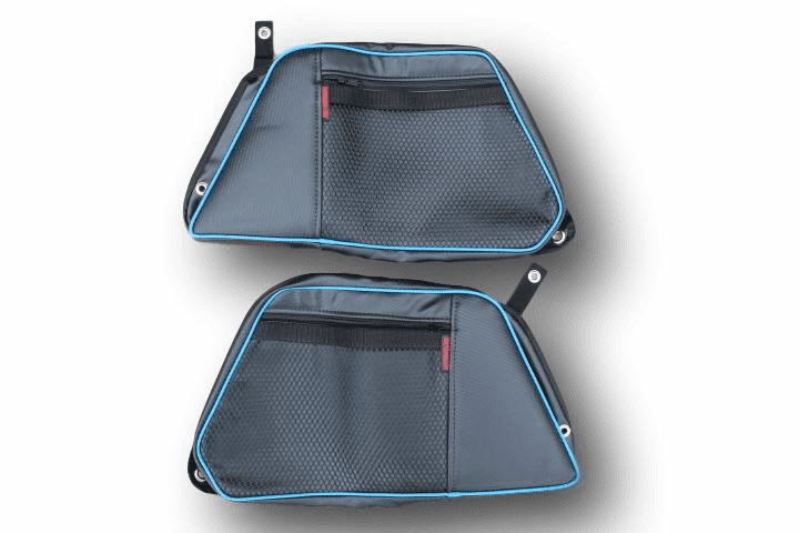 2015-2020 4-Door RZR 900/S4/XP1000/Turbo REAR Door Bags - Sky Blue