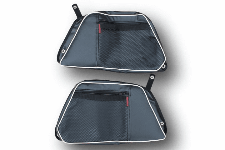 2015-2021 4-Door RZR 900/S4/XP1000/Turbo REAR Door Bags - White *CLEARANCE SALE!*