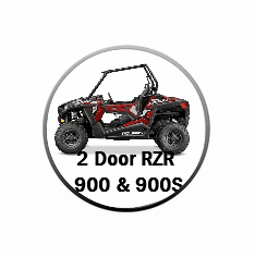 2015-2021 Two Door RZR 900 Trail / RZR S 900 / RZR S 1000 Doors