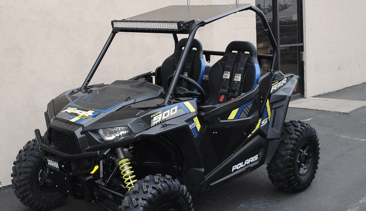 2015-2020 Polaris RZR 900 / 900S / 1000S / XP1000 / Turbo - Black Aluminum Roof *IN STOCK!