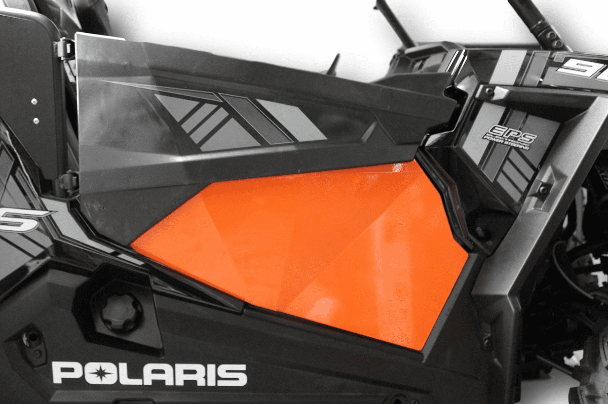 2015-2020 RZR S 900 Lower Door Inserts - Orange *SOLD OUT*
