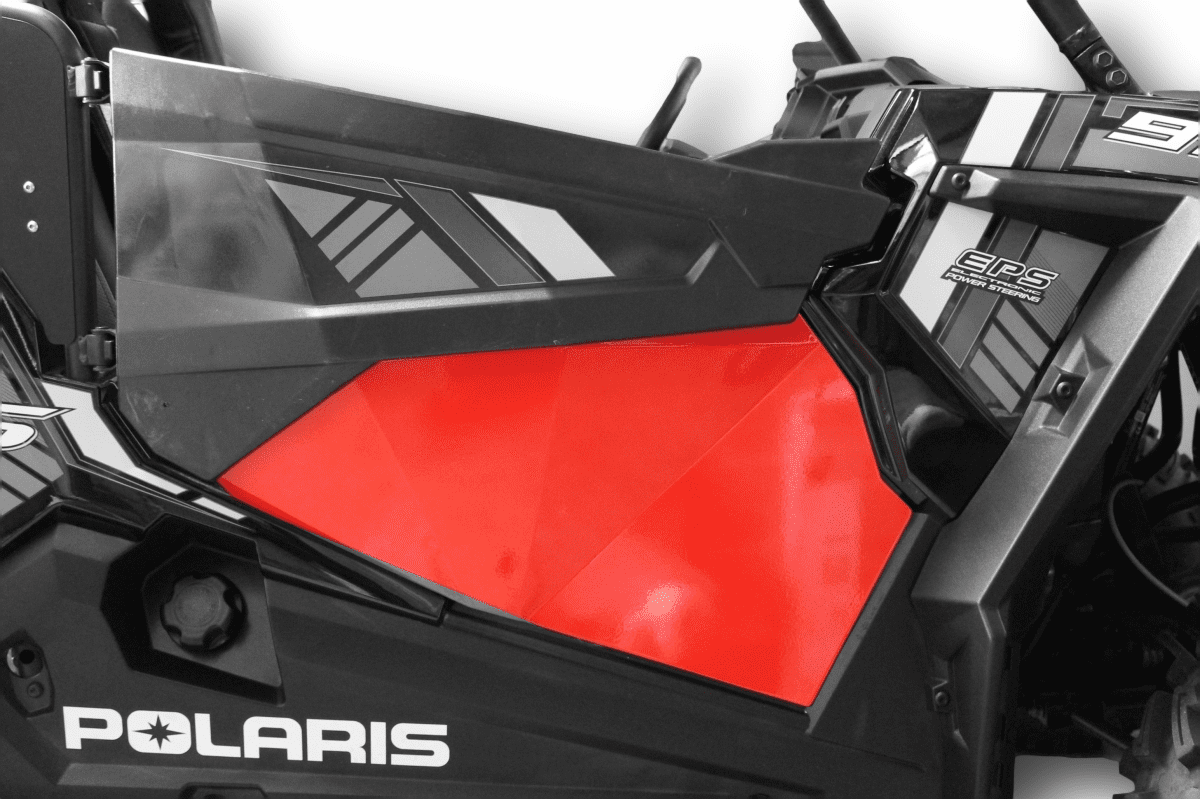 2015-2020 RZR S 900 Lower Door Inserts - Red *SOLD OUT*