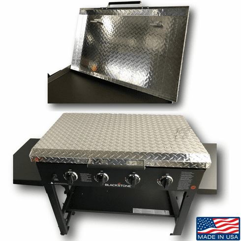 36 Inch Blackstone Griddle Cover Lid - Diamond Plate Aluminum