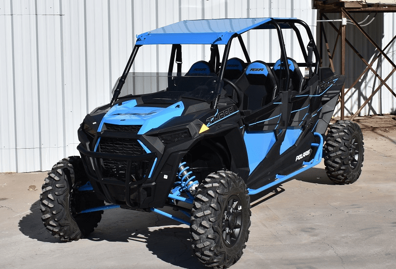 4-Door RZR 1000/Turbo/900 Roof - Sky Blue *SOLD OUT*