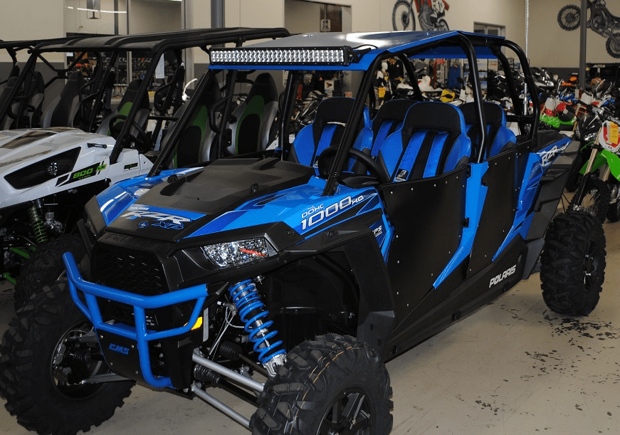 4-Door RZR 1000/Turbo/900 Roof - Blue *SOLD OUT*
