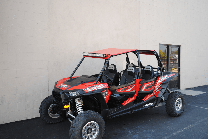 4-Door RZR 1000/Turbo/900 Roof - Red *SOLD OUT*