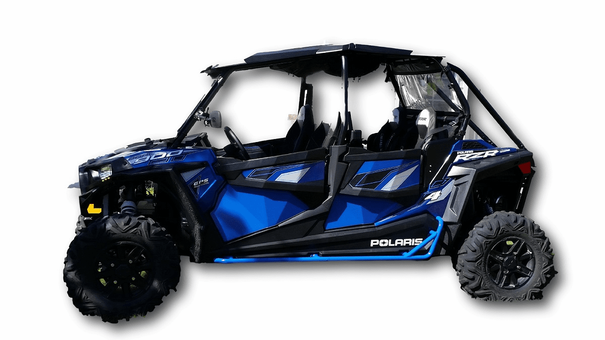 Four Door RZR 1000/Turbo/900/900S Nerf Bars *SOLD OUT*