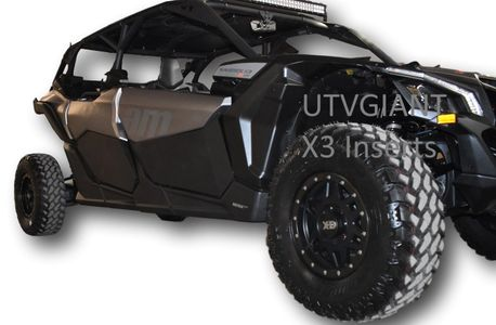 Can-Am Maverick X3 Max 4 Door - Lower Door Inserts Panels- SOLD OUT