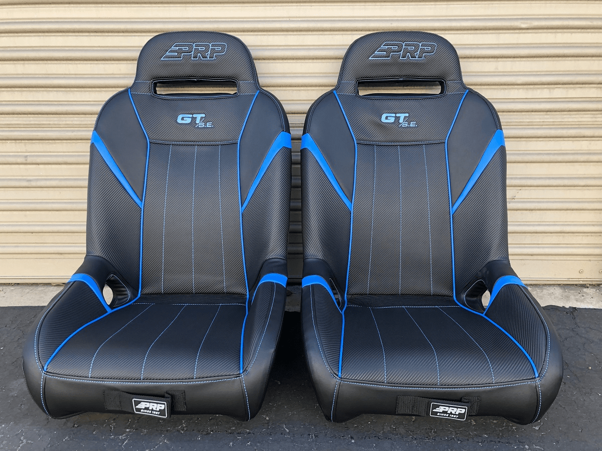 PRP GT S.E. Extra Wide RZR Seats - 2019-2020 Sky Blue *SOLD OUT*