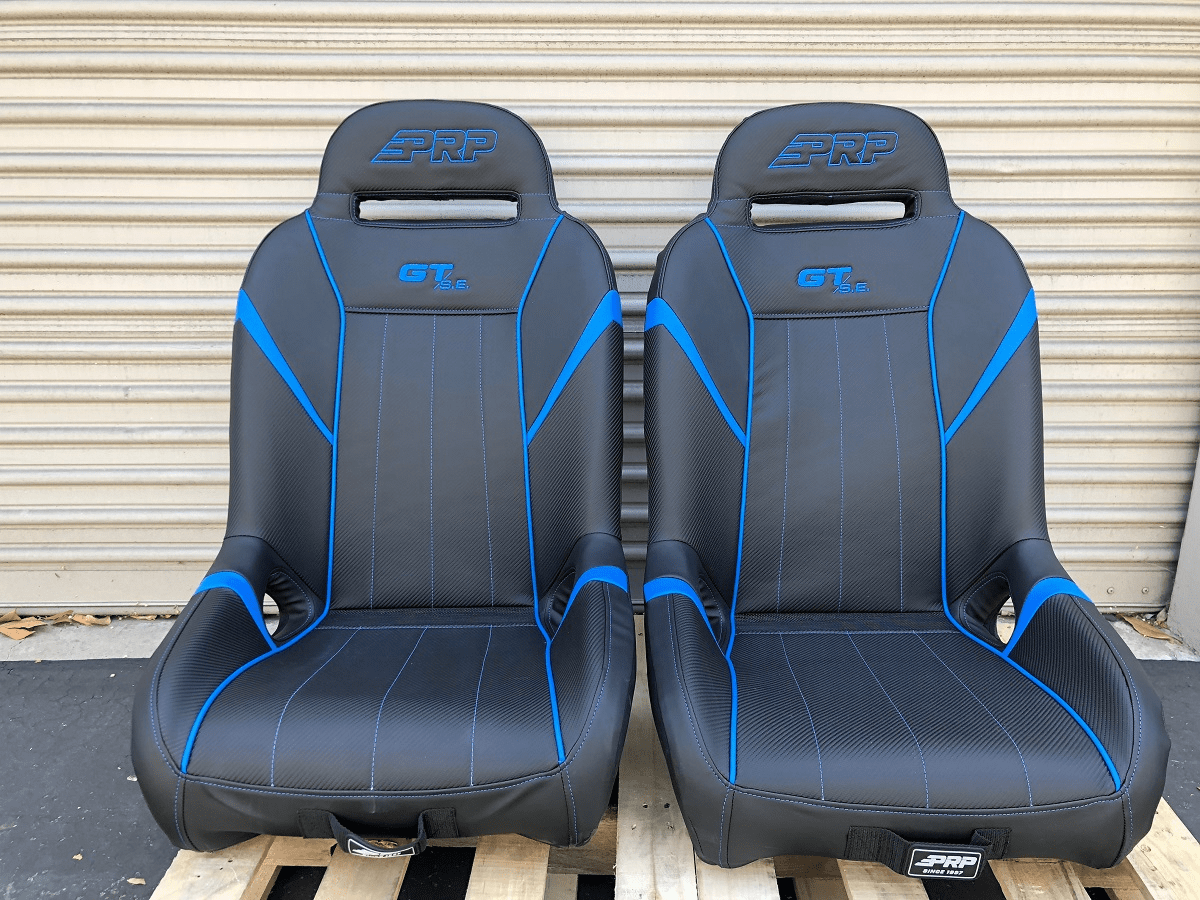 PRP GT S.E. Extra Wide RZR Seats - Blue  *SOLD OUT*
