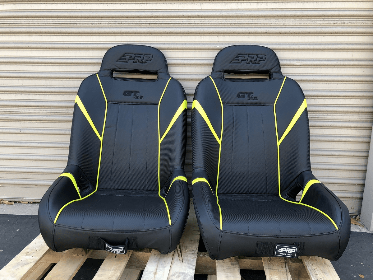 PRP GT S.E. Extra Wide RZR Seats - Lime Squeeze *SOLD OUT*