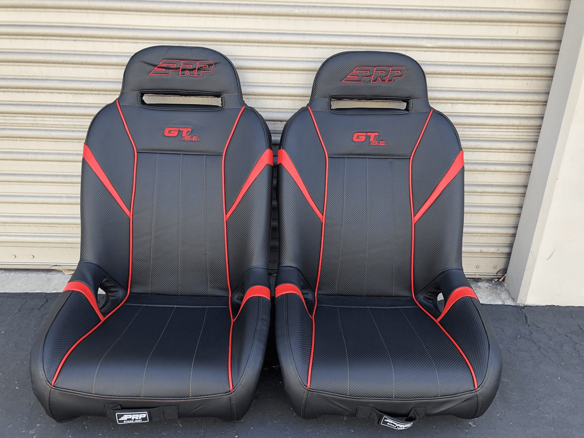 PRP GT S.E. Extra Wide RZR Seats - Red  *SOLD OUT**