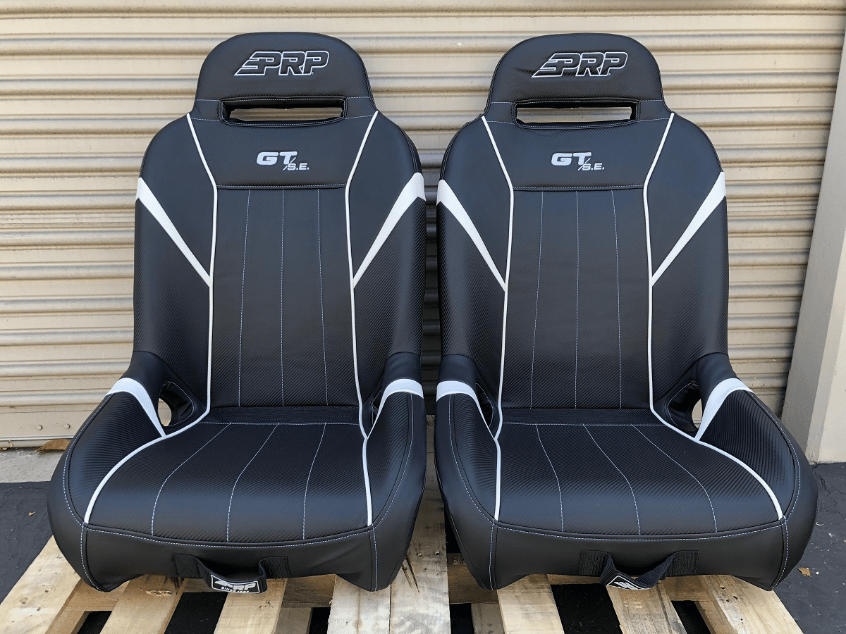 PRP GT S.E. Extra Wide RZR Seats - White  *SOLD OUT**