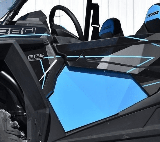RZR 1000/Turbo 2-Door Lower Inserts - SKY BLUE *SOLD OUT*