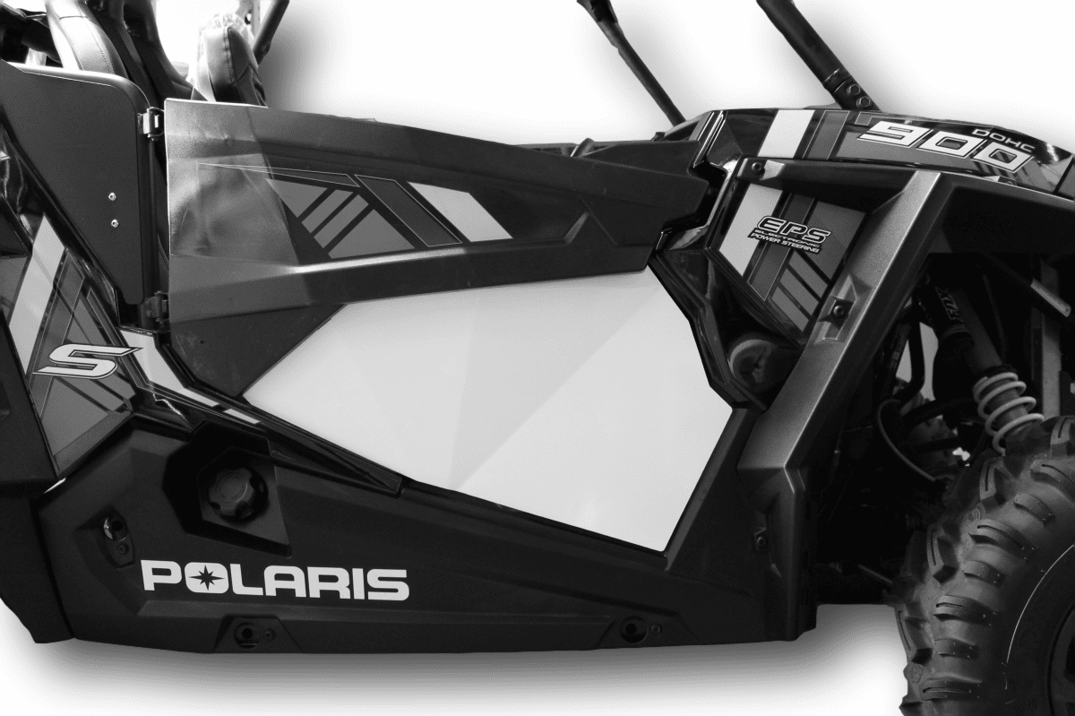 RZR 1000/Turbo 2-Door Lower Inserts - White *SOLD OUT*