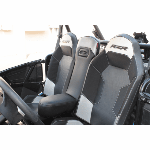 RZR 1000/Turbo/900 Center Seat - Black/Silver *SOLD OUT*