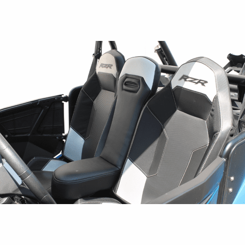 RZR 1000/Turbo/900 Center Seat - Black/White *SOLD OUT*