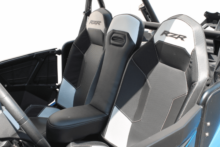 RZR 1000/Turbo/900 Center Seat - Black/White