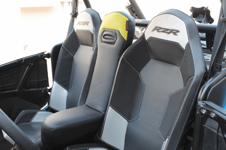 RZR 1000/Turbo/900 Center Seat -  Lime Squeeze *SOLD OUT*