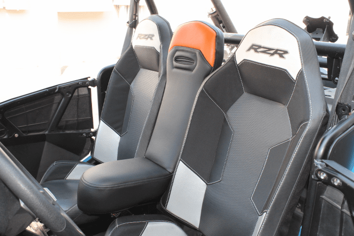 RZR 1000/Turbo/900 Center Seat - Orange *SOLD OUT*