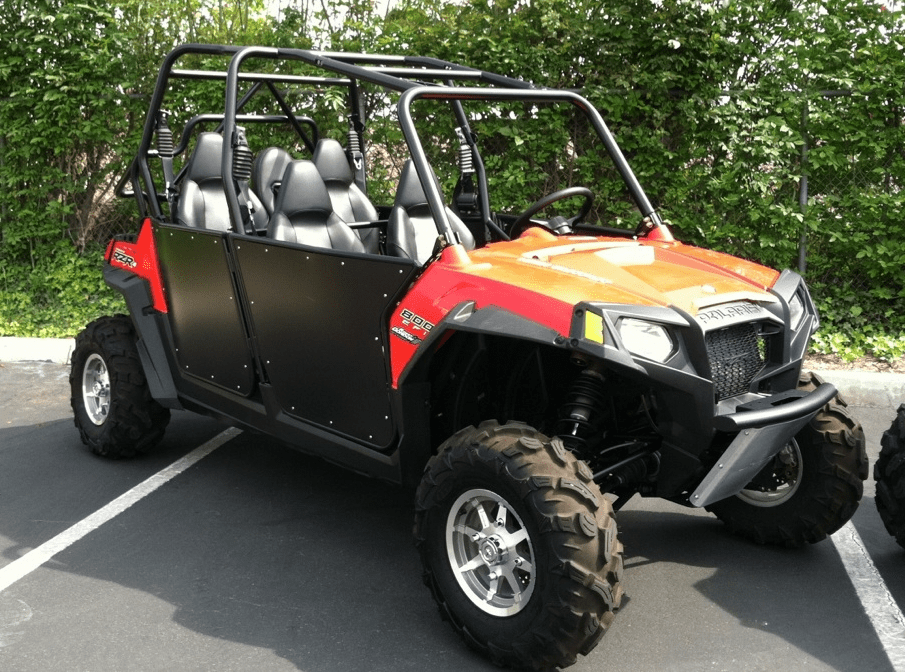 RZR-4/XP4 Bear Claw Doors - *Will Ship Within 5-7 Days From Order Date*