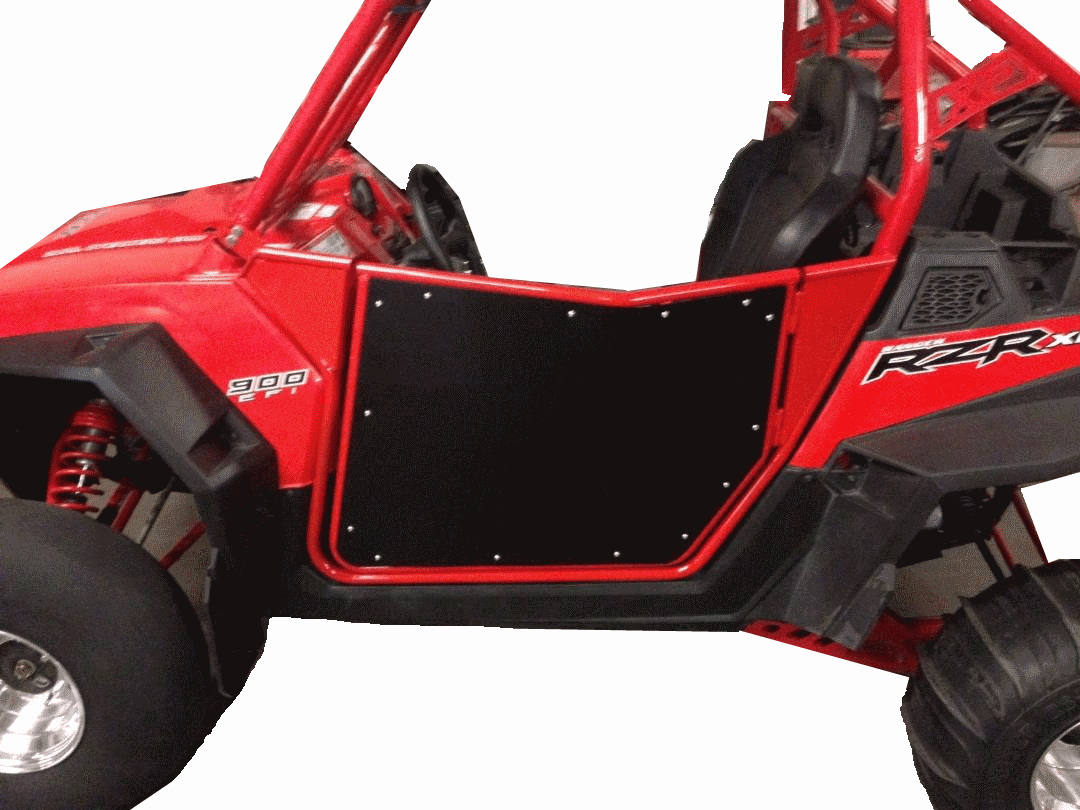 RZR Bear Claw Doors V.2 - Red/Black *SOLD OUT*