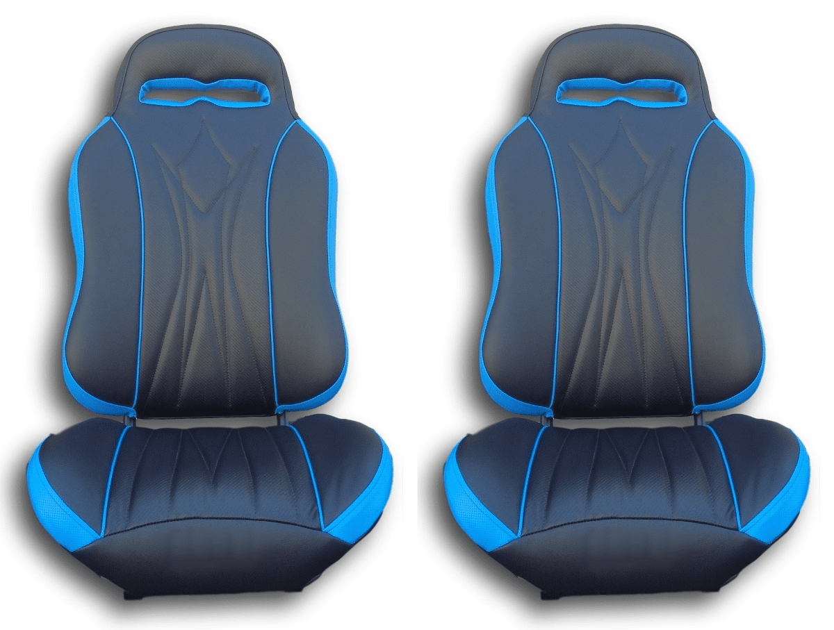 UTVGiant Apex 2.0 Seats - Blue