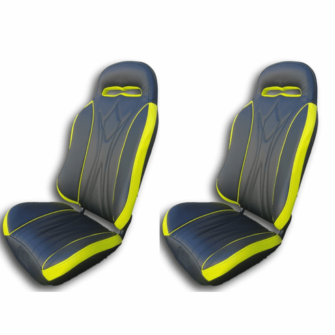 UTVGiant Apex 2.0 Seats - Lime Squeeze